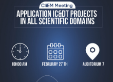 IC&DT Projects in all Scientific Domains - CiiEM Meeting